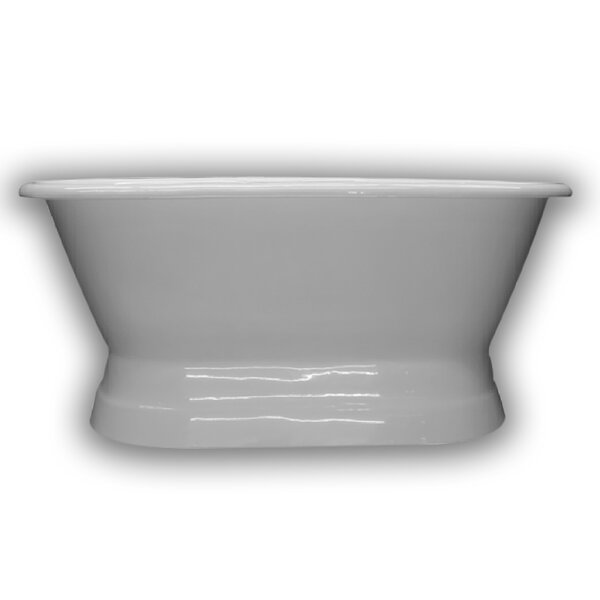 Cast Iron Double Ended 60 x 30 Freestanding Soaking Bathtub by Cambridge Plumbing