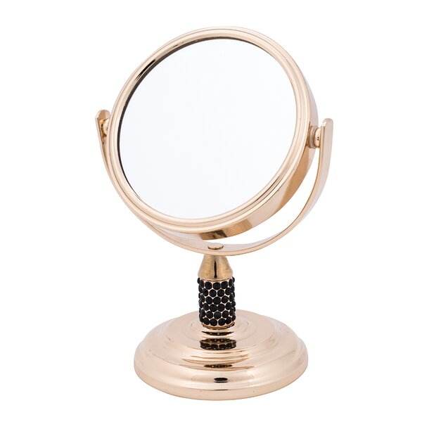 Gold Studded Mini Mirror by Danielle Creations