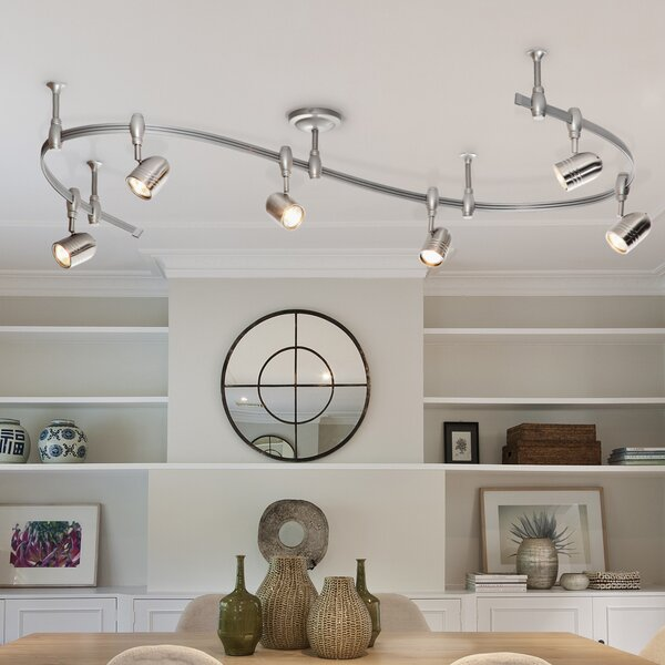 Benny Flex Rail 6-Light Track Lighting Kit by Cata