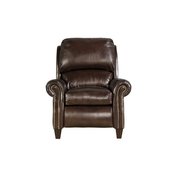 Lorraine Leather Recliner by Darby Home Co