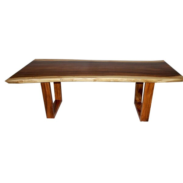 Oklee Live Edge Solid Wood Dining Table by Foundry Select