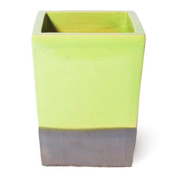 Cube Ceramic Pot Planter by Seasonal Living