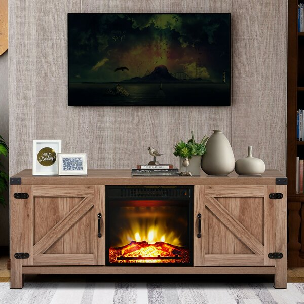 Beckemeyer TV Stand For TVs Up To 65
