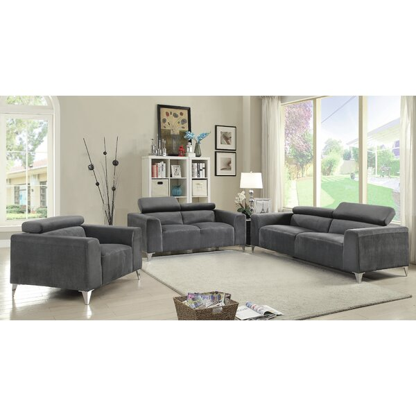 Stefan Configurable Living Room Set by Wade Logan
