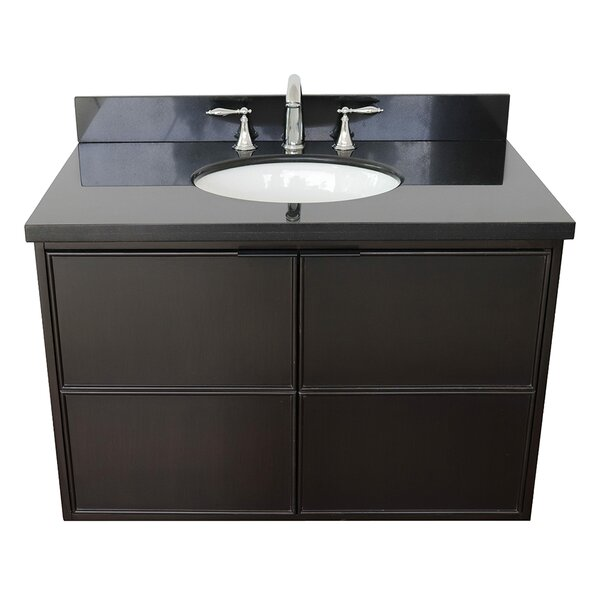 Hawridge 37 Wall-Mounted Single Bathroom Vanity Set by Gracie Oaks