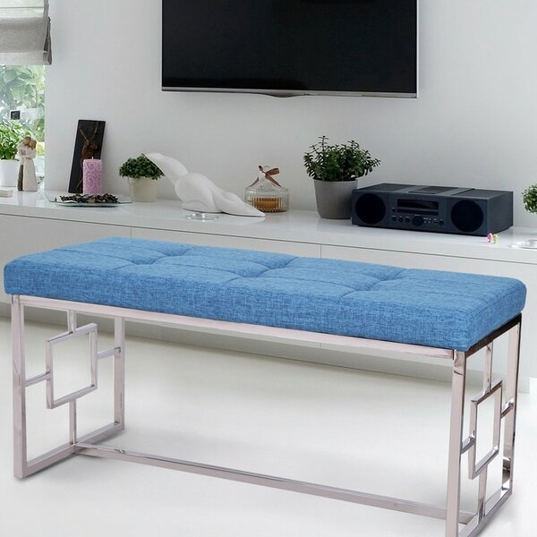 Corston Upholstered Bench by Ivy Bronx