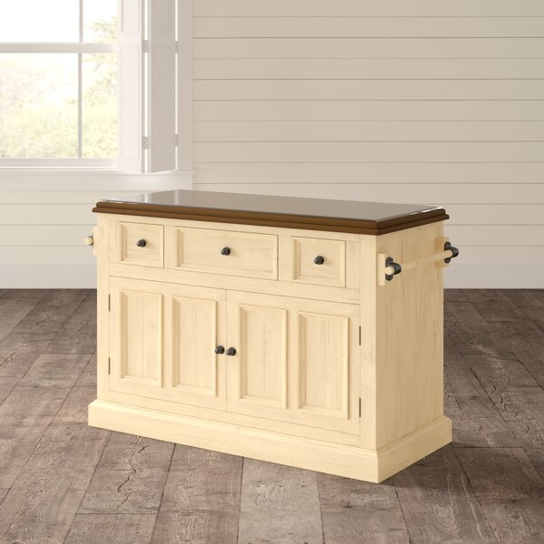 Best Choices Harris Kitchen Island With Granite Top By Birch Lane™ Heritage Cheap