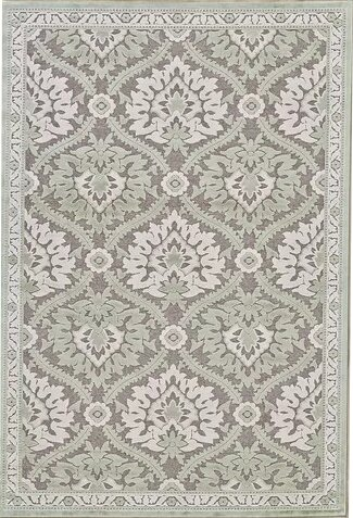 Rousseau  Green/Gray Area Rug by Lark Manor