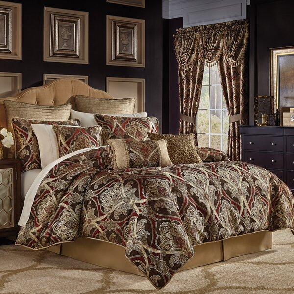 Bradney 4 Piece Comforter Set by Croscill Home Fas