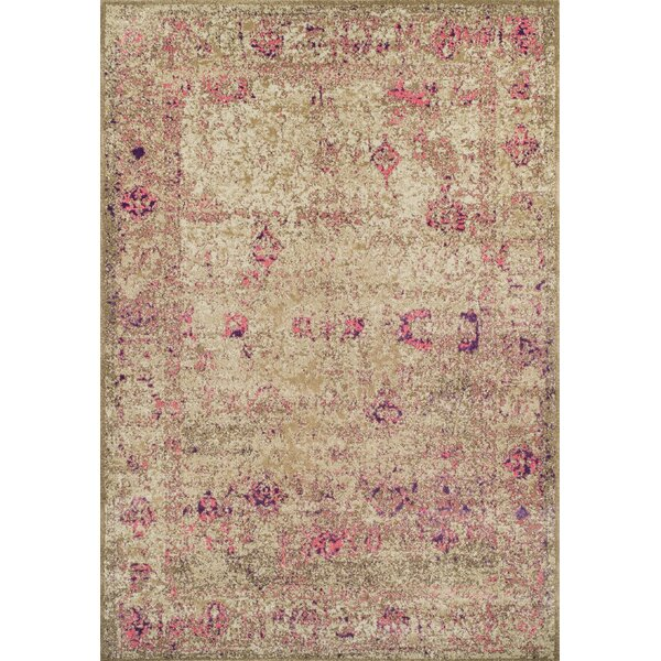 Forsythia Pink Area Rug by Bungalow Rose