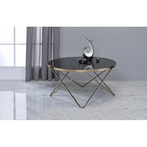 Smyrna Contemporary Round Living Room Coffee Table By Wrought Studio