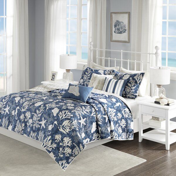 Beacon Falls 6 Piece Coverlet Set by Highland Dunes