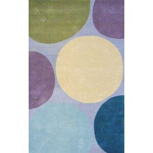 handtufted graypurple area rug
