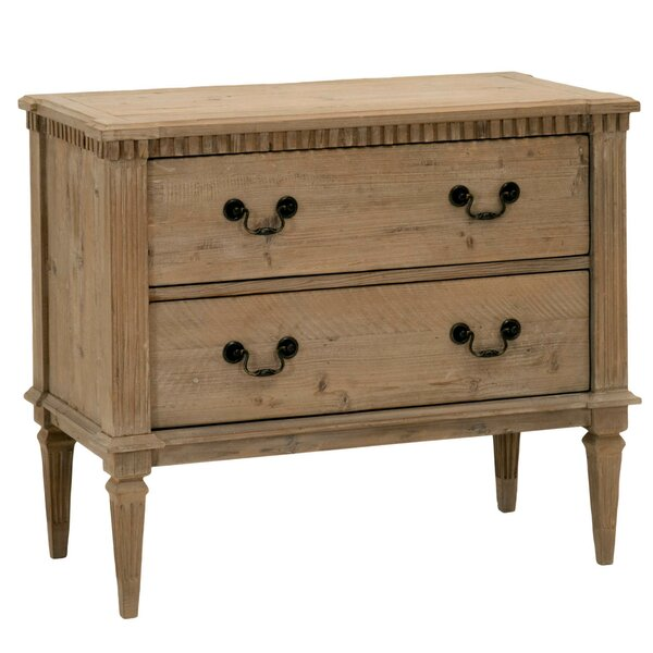 Otavio 2 Drawer Accent Chest by Darby Home Co Darby Home Co