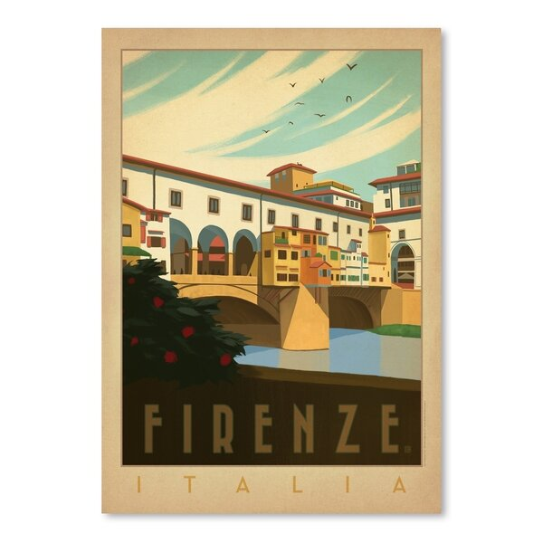 Italy Firenze Vintage Advertisement by East Urban Home