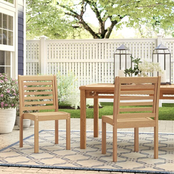 Callaway Patio Dining Chair (Set of 2) by Birch Lane Heritage Birch Lane™ Heritage