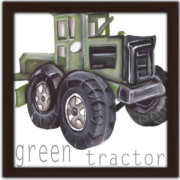 Tractor Framed Art by Doodlefish