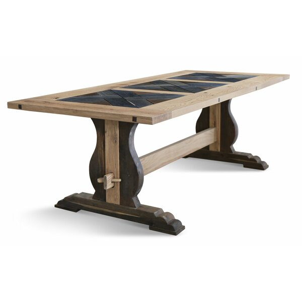Ritchie Solid Wood Dining Table by Gracie Oaks