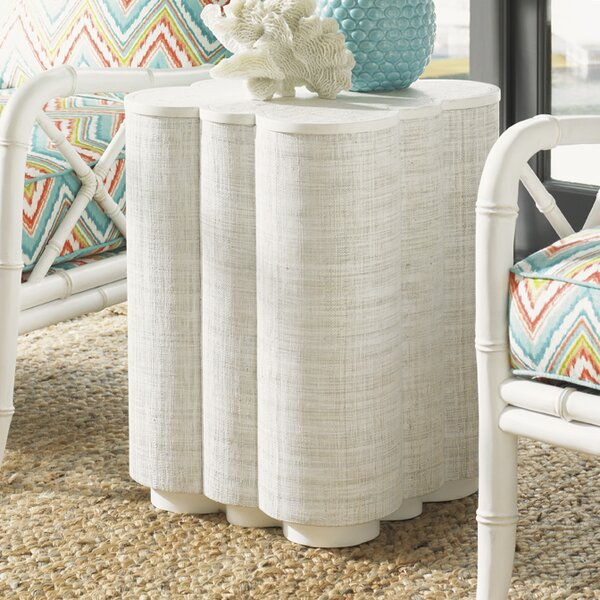 Ivory Key End Table By Tommy Bahama Home