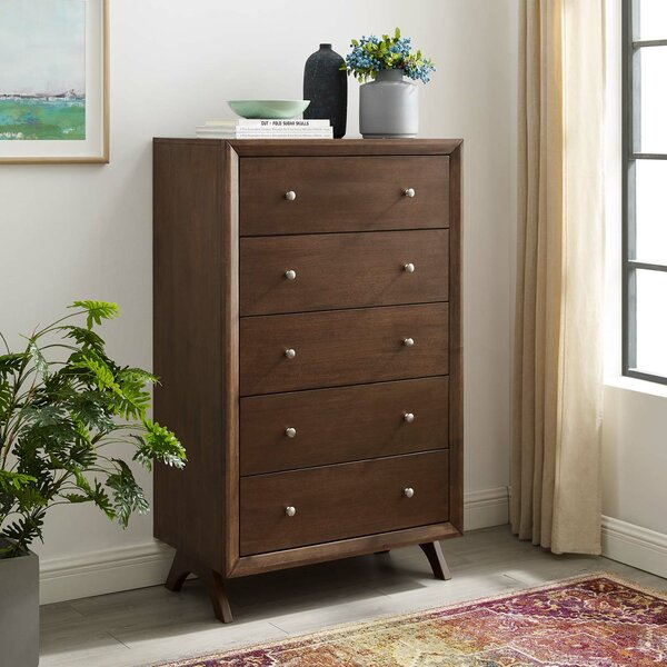 Nehemiah 5 Drawer Chest by Wrought Studio