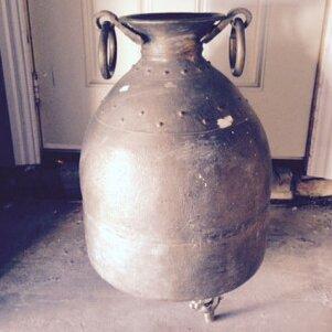 Copper Planter Pot by Zarposh India