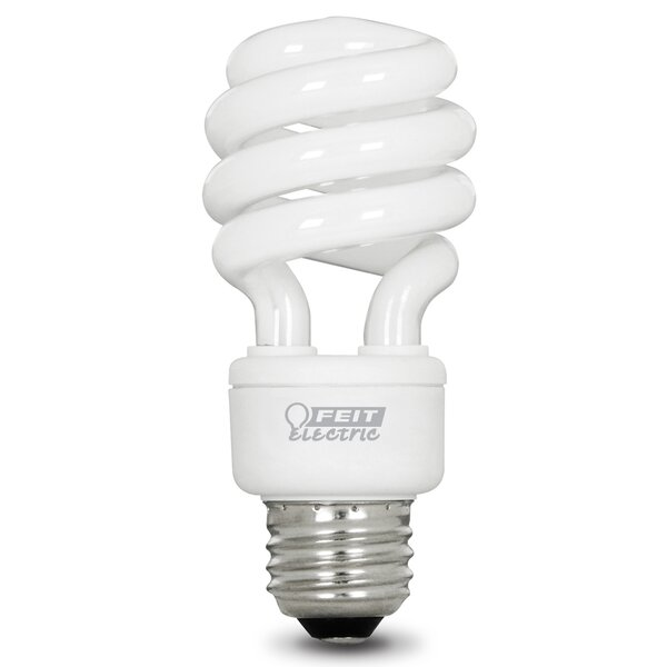 13W E26 Fluorescent Light Bulb Pack of 4 by FeitElectric