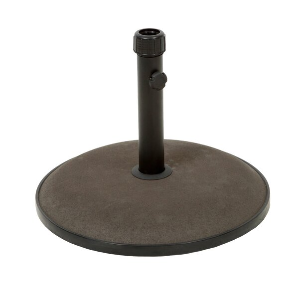 Total Concrete and Steel Umbrella Base by Winston Porter