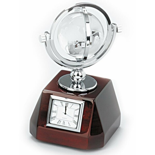 Tabletop Clock by Alcott Hill