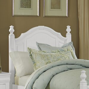 Hewitt Wood Headboard with Rounded Tops by Three Posts
