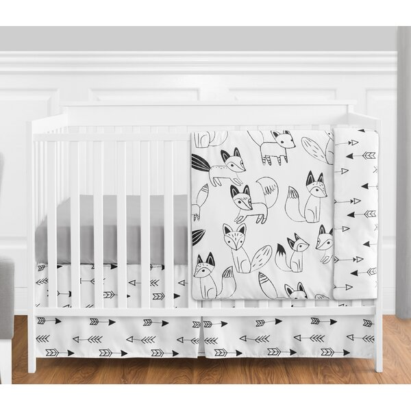 Fox 4 Piece Crib Bedding Set by Sweet Jojo Designs