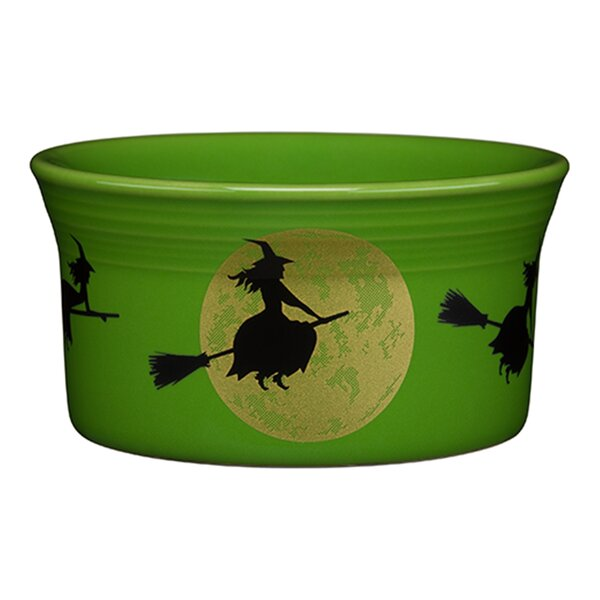 Round Ramekin Harvest Moon Witch by Fiesta