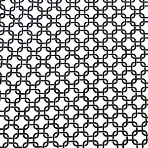 Links Fitted Crib Sheet