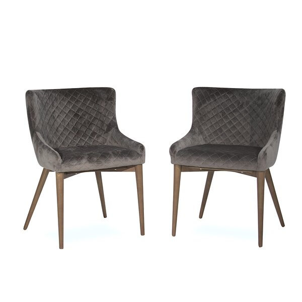 Abagail Upholstered Dining Chair (Set of 2) by Ivy Bronx