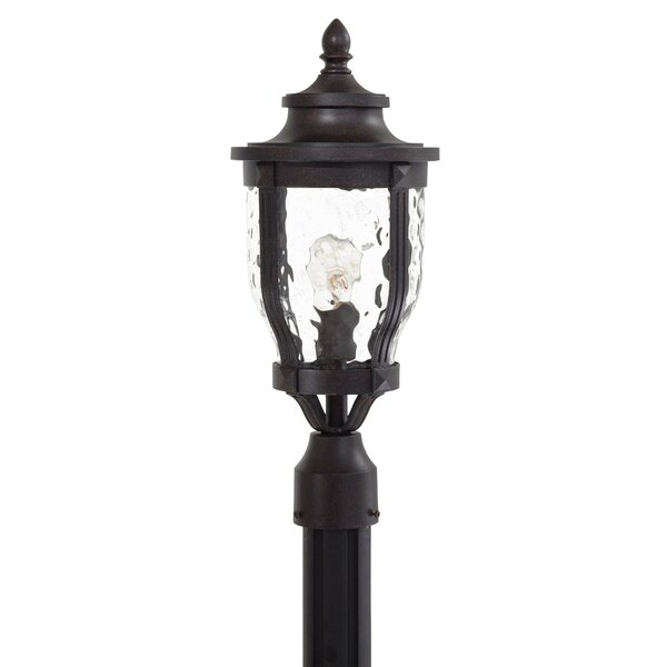 Porterfield Outdoor 1-Light Lantern Head by Three Posts