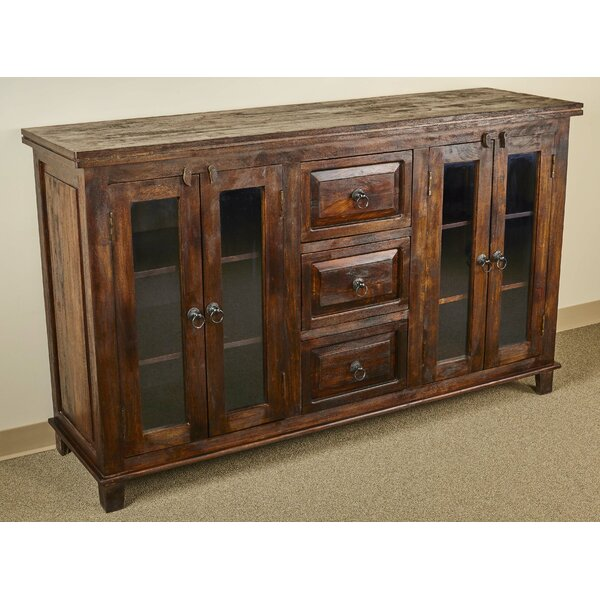 Castle Glass Sideboard by Aishni Home Furnishings
