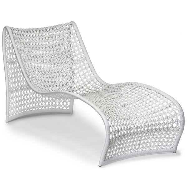 Lola Outdoor Chaise Lounge by Oggetti