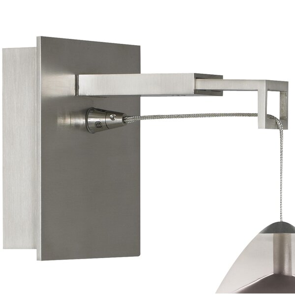 Revel Hardwired Armed Sconce by Tech Lighting