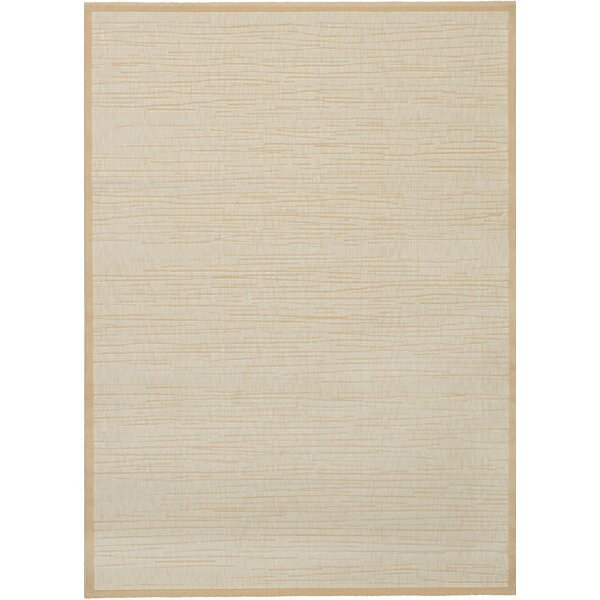 Whimbrel Cream Area Rug by Bay Isle Home