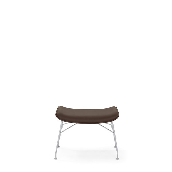 Leather Ottoman By Kartell
