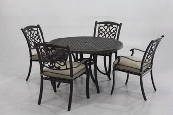 Hanson 5 Piece Dining Set by Darby Home Co