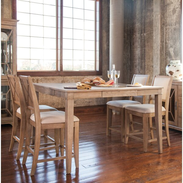 Ullrich 5 Piece Pub Table Set by Ophelia & Co.