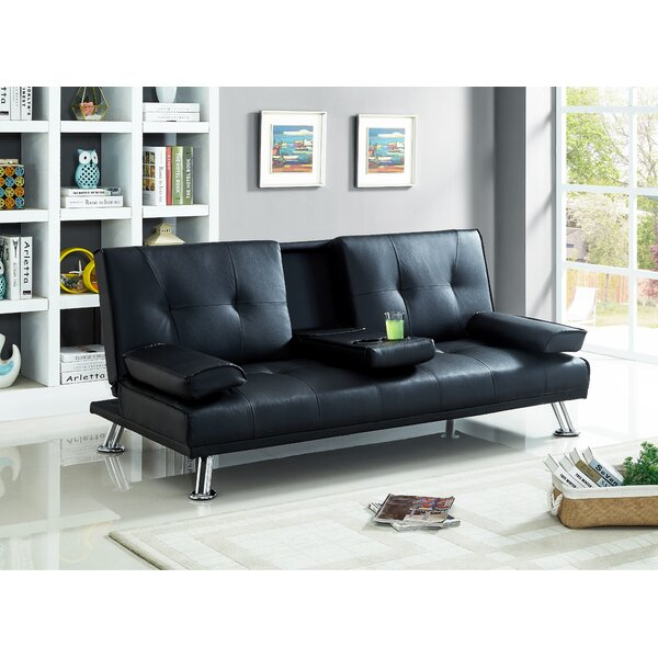 Eliseo Convertible Sofa by Ebern Designs