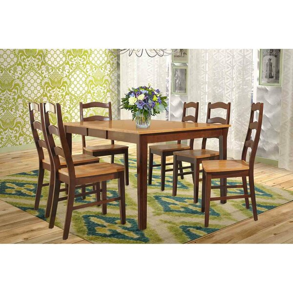 Stettler Extendable Solid Wood Dining Table by TTP Furnish