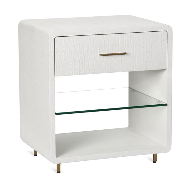 Alma 1 Drawer Nightstand by Interlude