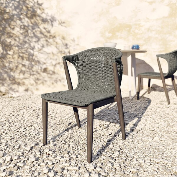 Hanceville Patio Dining Chair (Set of 2) by George Oliver