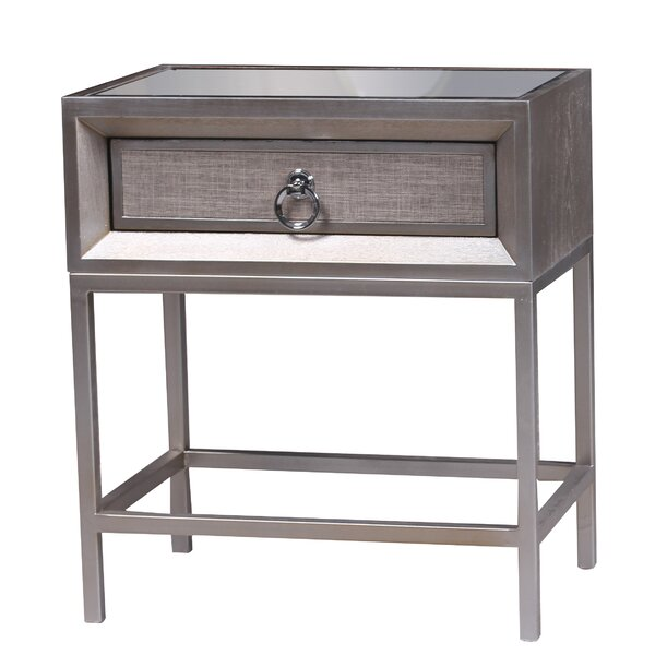 Cassidy 1 Drawer Nightstand by Statements by J