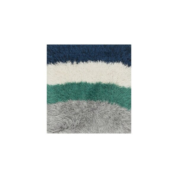 Hersi Hand-Tufted Gray/Green/Blue Area Rug by Latitude Run