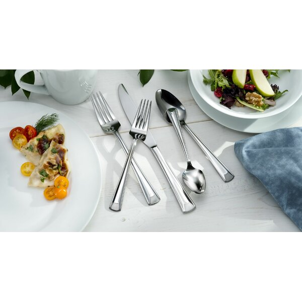 Cella 62 Piece Flatware Set by Oneida