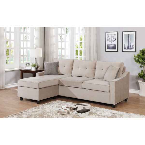 Husman Reversible Modular Sectional With Ottoman By Ebern Designs Comparison
