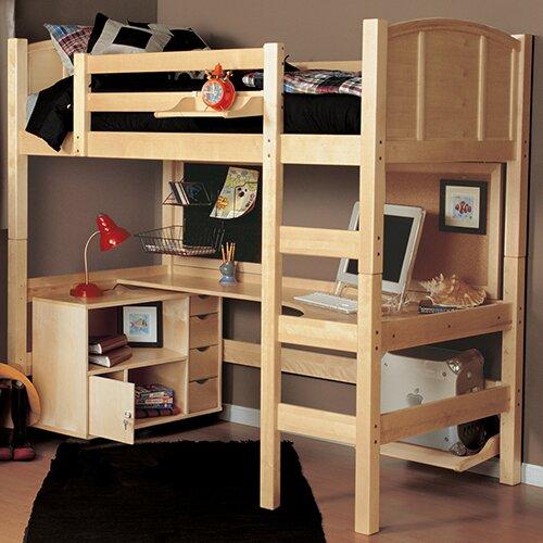 Epoch Design Radia Twin Loft Bed Configurable Bedroom Set ...